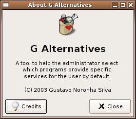Galternatives About