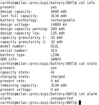 battery statistics screenshot