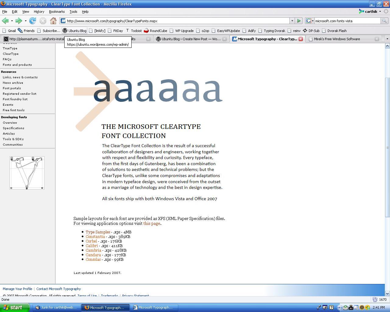 Installing Vista Fonts in Ubuntu | Ubuntu Blog