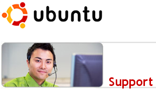 Ubuntu support photo